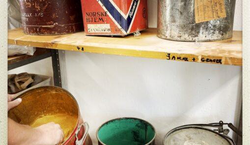 antikvariske produkter nederst på forsiden